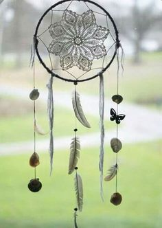 Cute black dream catcher