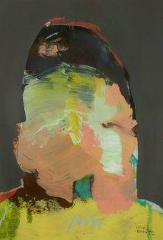 """Saatchi Art Artist Miloš Hronec; Painting, """"Grandparent"""" #art"""