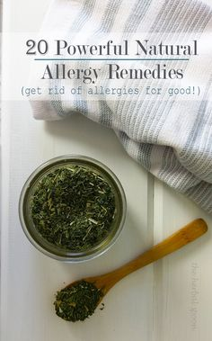 20 Powerful Natural Remedies for Seasonal Allergies. When you're suffering from seasonal allergies, you want relief FAST! But you might also want to avoid OTC meds. Learn how to relieve seasonal allergy symptoms naturally! Natural Remedies For Allergies, Natural Health Remedies, Natural Cures, Herbal Remedies, Seasonal Allergy Remedies, Natural Medicine, Herbal Medicine, Seasonal Allergies, Terraria