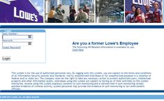 Myloweslife.com • MyLowesLife Login for Employee SSO Companies In Usa, Forgot Password, Good Communication, Cool Websites, Lowes, Work On Yourself, Twitter Sign Up, Conversation, Accounting