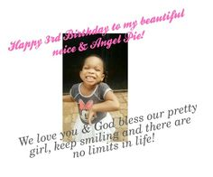 """Happy 3rd birthday to my beautiful neice"" by fredericaehimen ❤ liked on Polyvore featuring art"