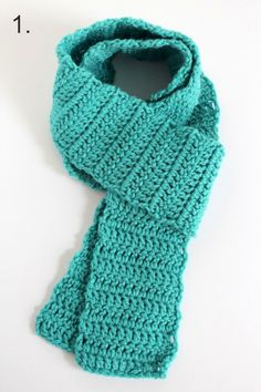 Wrapping a #Crochet Scarf