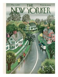 MAY  The New Yorker Cover - May 3, 1947 Poster Print by Edna Eicke at the Condé Nast Collection