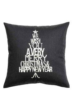 christmas print cushion cover 399