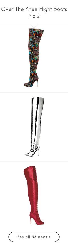 Over The Knee Hight Boots No.2 by jckyleeah ❤ liked on Polyvore featuring OverTheKneeBoots, thighhight, shoes, boots, over-the-knee boots, christian louboutin over-the-knee boots, christian louboutin, over-knee boots, christian louboutin boots and gianvito rossi over the knee boots