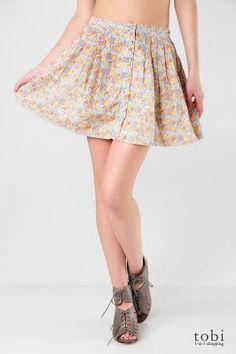 Summer skirt tutorials