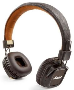 Marshall Major Ii Bluetooth Headphones - Brown