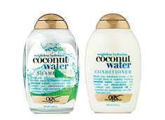 coconut water shampoo, i need to try this.  their other coconut products smell amazing