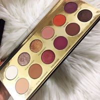 12 colors Shimmer Eyeshadow Highlighter Palette Makeup Powder Lasting Metallic