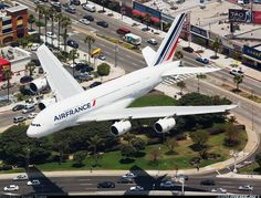 AF giant over Paul Paulsen territory, one of my favorite spotting location in the world. [Canon + Canon EF L IS] - Photo taken at Los Angeles - International (LAX / KLAX) in California, USA on May Birds In The Sky, Air Traffic Control, Airbus A380, Air Space, Civil Aviation, Commercial Aircraft, Aircraft Pictures, Air Travel, Military Aircraft