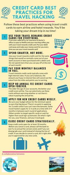 Credit Card Best Practices for Travel Hacking Credit Card Hacks, Credit Card Points, Rewards Credit Cards, Best Credit Cards, Credit Score, Build Credit, Credit Rating, Chase Credit, Credit Check