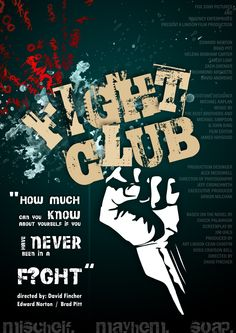 a thematic analysis of the film fight club A thematic analysis of palahniuk's fiction in light of epicureanism  one-dimensional men: fight club and the poetics of body film criticism, 1(28), 1-8.