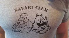 Tee shirt  silhouette  safari