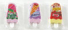Alístate para este regreso a clases con estas divertidas gomitas para borrar, pero no te las vayas a comer :3  Descripción del Kit 3 Korean Ice Popsicle: Tamaño: 3 cm x 5 cm, Cantidad: 3 piezas.  Puedes adquirirlas en:  Envíos económicos e internacionales: https://www.kichink.com/buy/712833/modacoreana/kit-de-3-gomitas-para-borrar-korean-ice-popsicle  Se acepta Mercadopago: http://www.modacoreana.com/kit-gomitas-para-borrar-con-forma-de-helados-pasteles-pizzas-46027922xJM