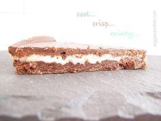Peppermint Patty Freezer Pie   www.veggiesdontbite.com   #vegan #plantbased #glutenfree via @veggiesdontbite
