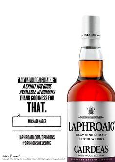 Opinion Haiku on the Laphroaig Cairdeas. #laphroaig #whisky #opinionswelcome