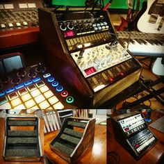 Wooden stand for Korg volca series