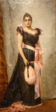 Portrait of Jacqueline by Leon Comerre, 1892