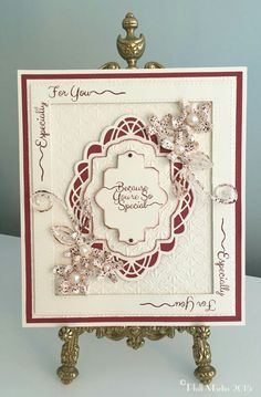 Phills' Crafty Place: Petite and Corner Scribbled Sentiments in Decadent Wine Hand Made Greeting Cards, Birthday Cards For Women, Embossed Cards, Friendship Cards, Creative Cards, Flower Cards, Sue Wilson, I Card, Making Ideas