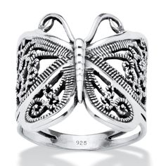 Palm Beach Butterfly Wrap Ring Tailored (Size ) Women's