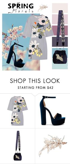 """""""Happy Spring!"""" by iseul ❤ liked on Polyvore featuring Marni and Steve Madden"""