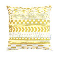 Alma Tatuada - Tribal yellow Throw Pillows, Cushions, Decor Pillows, Pillows, Decorative Pillows