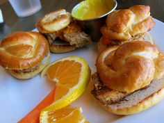 Seitan Sliders at Sweet Melissa's Vegetarian Cafe in downtown Laramie, WY