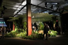 innovation, technology, and design meet to create the world's first underground park- currently on exhibit to show how subterranean environments can be created with natural resources.