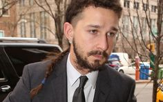 Shia LaBeouf's disorderly conduct case will be dismissed if he can stay clean for 6 months. But what's up with that rat tail?