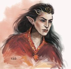 Feanor by Ten thousand leaves (sassynails.deviantart.com on @DeviantArt)