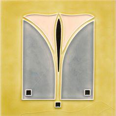 Art Nouveau Tiles, Art Nouveau Design, Pottery Sculpture, Pottery Art, Tile Art, Mosaic Art, Azulejos Art Nouveau, Jugendstil Design, Vintage Tile