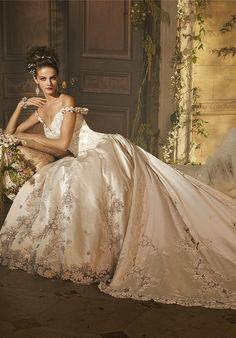 AMALIA CARRARA BY EVE OF MILADY 279 Wedding Dress - The Knot