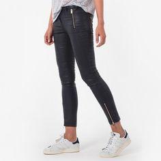 Jean slim enduit, Pantalons et jeans