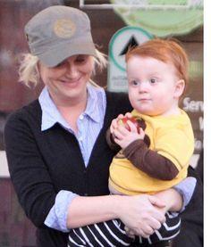 "Abel Arnett: My New Favorite Celebrity Baby! "" Meet Abel Arnett, the young son of Amy Poehler and Will Arnett. Celebrity Baby Pictures, Celebrity Baby Names, Celebrity Babies, Celebrity Gossip, Chubby Babies, Little Babies, Cute Babies, Amy Poehler, Red Head Kids"