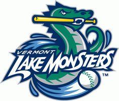 vermont lake monsters logo   fav newyork penn league