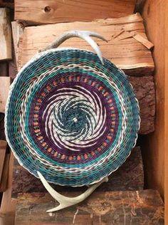 Jill Choate  | Jill Choate Basketry - Spirals with triple twining