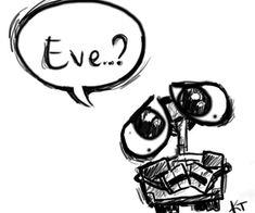 Image de wall-e, eve, and disney