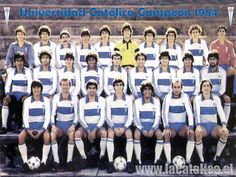 Universidad Catolica 1984 Equipement Football, Chile, 1984, Movies, Movie Posters, Universe, Sports, Crusaders, Life