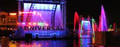 Universal Orlando has begun sneak previews of their new nighttime lagoon show called Universal's Cinematic Spectacular. The show is an exciting tribute as