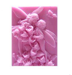 Fairy Lovers  Fairy Soap    Valentine Soap   by EnchantedBeehive on etsy.