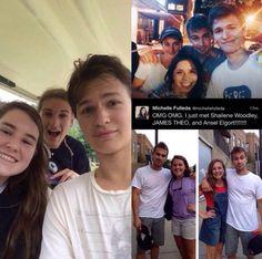 Fans meet Theo James, Shailene Woodley, and Ansel Elgort!
