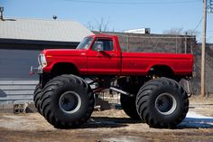 "Real heavy duty ""Lifted Fords"""