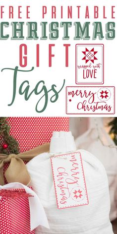 If you are looking to add some flair to your wrapping this year, look no further than this post! http://www.themountainviewcottage.net/blog-1/2016/12/21/christmas-gift-tag-free-printables-farmhouse-inspired I am sharing 2 free farmhouse inspired Gift tag printables, as well as a bunch of my absolute favorite tips to add a little more charm to your wrapping this year!!