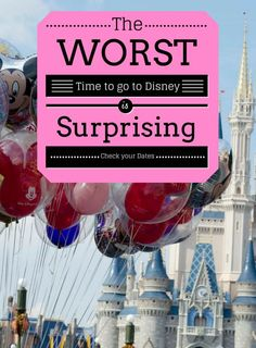 When should you take that trip to Walt Disney World? Here are the best times to go and our top Disney World TIPS to make the most of your Disney Holiday. #waltdisneyworld #mousechat #disneyworld