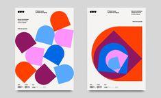 Mundial Estudio on Behance Graphic Design Branding, Graphic Design Illustration, Logo Design, Identity Design, Brand Identity, Geometric Pattern Design, Geometric Designs, Museum Branding, Self Branding