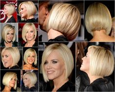 Jenny McCarthy Bob Hairstyle | haircut possibilities / Jenny McCarthy bob [collage]