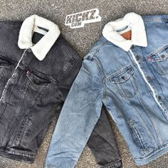 The Levi's Sherpa Trucker Jacket is available at KICKZ.com - get Fall/Winter ready now
