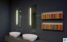 Specchio per bagno dal design moderno n.15