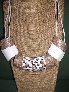 gargantilla de ARTESANIAALMA en Etsy Etsy, Jewelry, Fashion, Chokers, Hand Made Gifts, Clay, Handmade, Trends, Jewellery Making