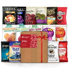 Vegan Snacks Healthy Gift Box Premium Care Package School Lunch for kids Bundle 15 ct * Click image for more details.Note:It is affiliate link to Amazon.